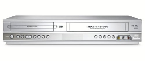 Philips DVP-3100 DVD-Player/Videorekorder-Kombination silber