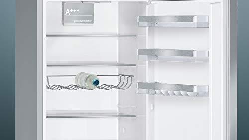 Siemens KG39EVI4A Kühl-Gefrier-Kombination ( Gefrierteil unten) / A+++ / 201 cm / 168 kWh/Jahr / 252 L Kühlteil / 95 Gefrierteil / Supercooling