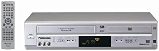 Remanufactured Panasonic PV-D4734S Double Feature Progressive Scan DVD/VCR Combo