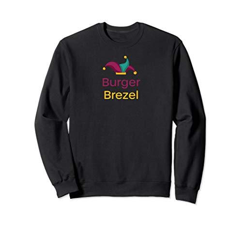 Burger Brezel Verkleidung Outfit Kostüm Sweatshirt