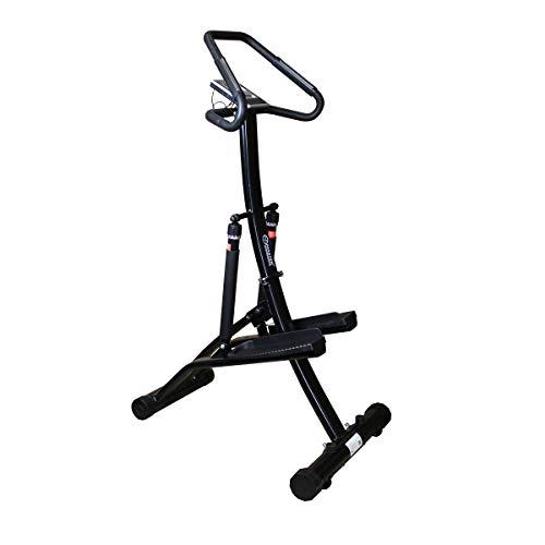 fit4form Master Power Stepper Premium Ultra Fitnessgerät Professional Home Black Edition