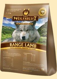 Range Lamb Trockenfutter für Hunde mit Lamm und Reis 8kg (4x2kg) Wolfsblut