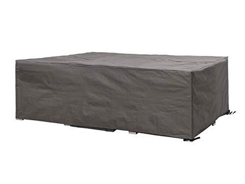Perel Garden OCLS250 beschermhoes voor lounge-set 250 cm, zwart, 250 x 250 x 75 cm