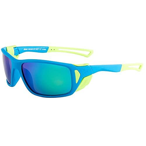 YUN Gafas de Sol para Hombres Gafas de Sol Polarizadas, UV400 Protección Conductor Actividades al Aire Libre Conducción Pesca Correr Senderismo Deportes (Color : Blue 3)