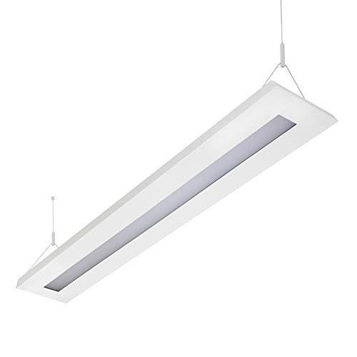 LED Pendelleuchte 51 Watt, 4000K, 4630lm, Büroleuchte, Arbeitsplatzleuchte, Schreibtischleuchte, Hängeleuchte, Designleuchte