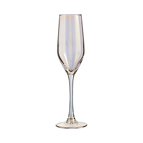 ARC 033270 Shiny Glas Glas 4 Stück Gold 16 cl