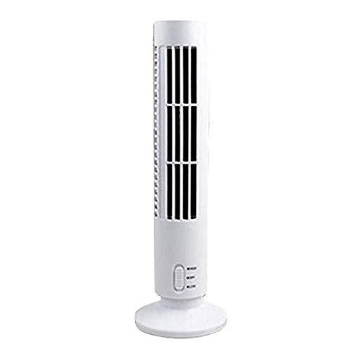 Silent Fan sinnvoller Turm ganzes Zimmer mit Mini-Kühlturm Zwei Geschwindigkeit für Sport Um Luft frei das Ministerium des Inneres nützlich,Weiß