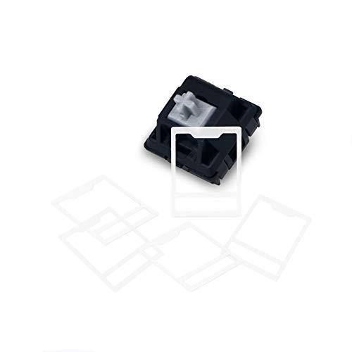 130 Stück/Set MX Switch Folien für mechanische Tastatur, Schalter Film Interaxial-Papier, Schalter HTV Interaxiale Pad Struktur, kompatibel mit Cherry MX Kailh Gateron Switch