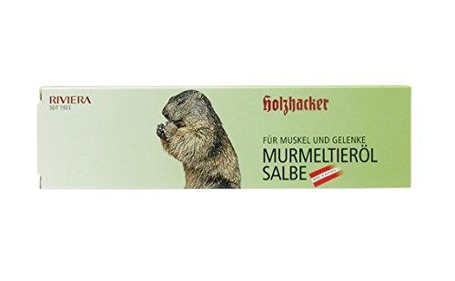 Holzhacker - Murmeltierölsalbe 75ml