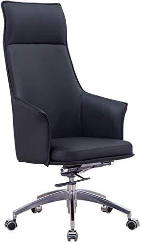 BeingHD Qualitätsbürostuhl, Bürostuhl mit Armlehne Bürostühle Chefstuhl Studie Computerstuhl Home Executive Chair Business Lift Swivel Chair (Color : Black)