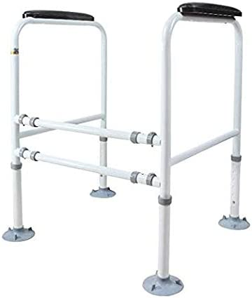 LMEIL Toilet Rails Adjustable Stand Rail Fr Alone Safety Tampa Max 45% OFF Mall