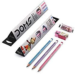 Finaldeals Doms Ultimate Dark Triangle Pencils (Pack of 30 Pencils)