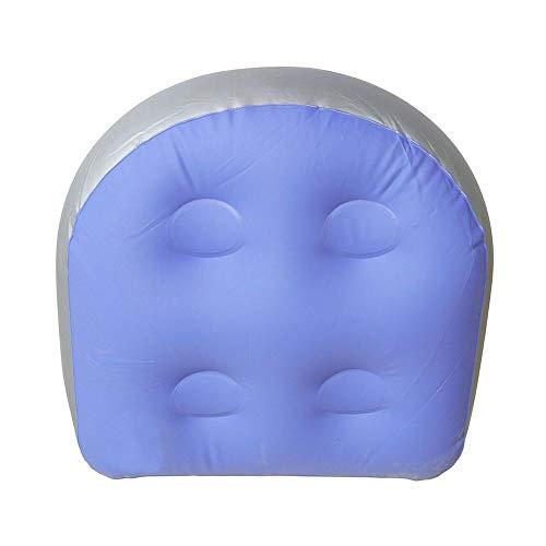 dianqin14 Multifunktionaler Spa-Sitzerhöhung mit Saugnapf-Griff, Whirlpool-Massage-Kissen, aufblasbares Wasser-Pad, ideal für Erwachsene oder Kinder