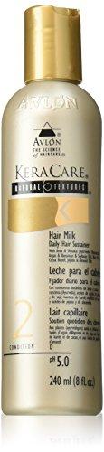 Avlon KeraCare Natural Textures Cheveux Lait capillaire quotidien Bougies, état 2, 240 ml/8 Fl. oz