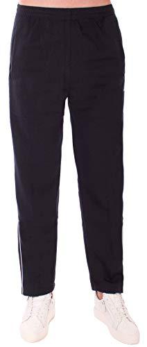 stylx Herren Hosen Hose Sporthose Trainingshose Cargo Pants Jogginghose Sweatpants Jogger Mode Freizeit Laufen Streifen Enger Beinabschluss (breit Bein blau, XXXL)