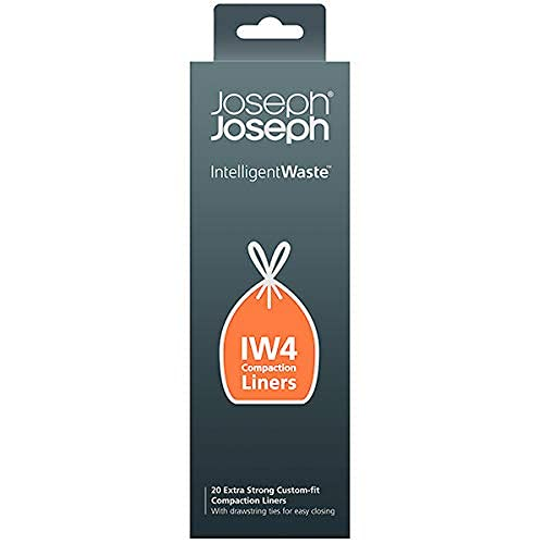 Joseph Joseph Intelligent Waste IW4 Compaction Bin Liners ...