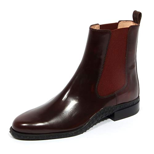Tod's G1990 Beatles Tronchetto Donna Sienna Ankle Boot Shoes Woman [37]