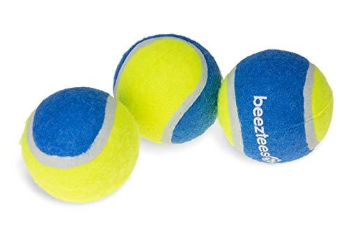 Beeztees Fetch Tennis Ball ø: 6.3 cm blau-gelb 3 Stk.