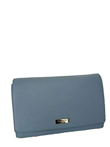 Kate Spade New York Saffiano Charlotte Street Alek Crossbody Bag (Cloud Cover)