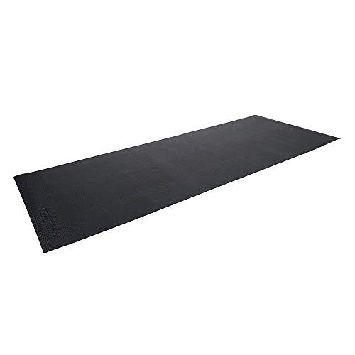 Tunturi Schutzmatte XL (Rower) Bodenschutzmatte-227 X 90 cm, schwarz, 227 x 90 cm