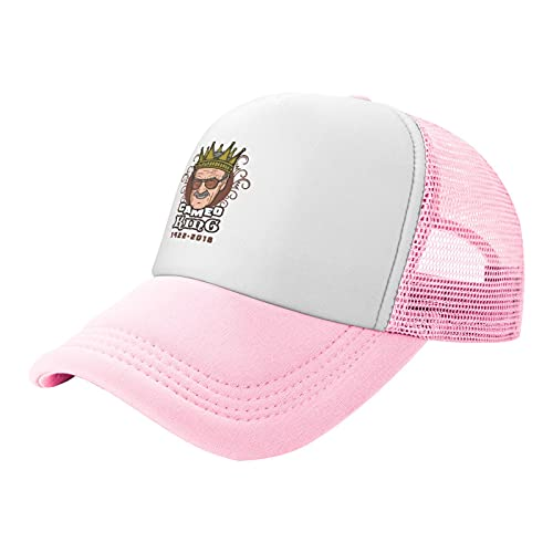 Sombrero de malla infantil Cameo King Stan Lee Trucker Sombreros