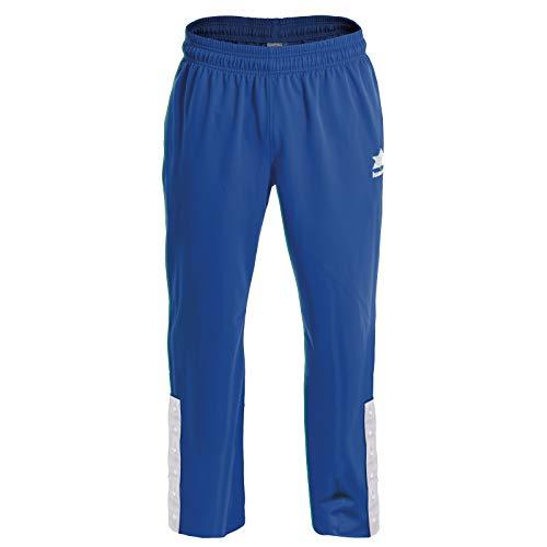 Luanvi Quebec Pantalones de Baloncesto, Hombre, Azul, XXXL