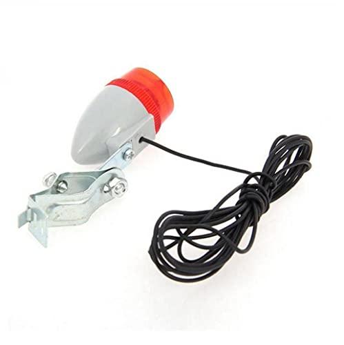 Liadance Generador de Bicicletas Modificado Molienda lámpara Linterna + luz Trasera, 6v 3w