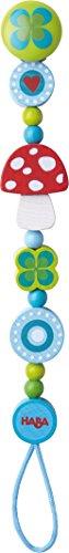HABA 2662 Schnullerkette Glücksbringer, Kleinkindspielzeug
