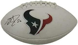 Lamar Miller Autographed Football - LOGO 15698 w - JSA Certified - Autographed Footballs