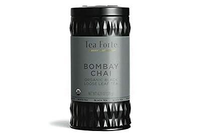 Tea Forte Bombay Chai - Thé noir bio en vrac- 100 g by Tea Forté …
