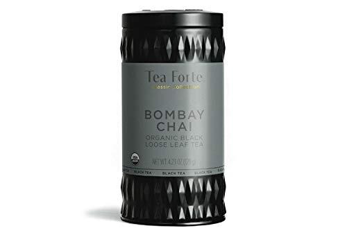 Photo of Tea Forte Loose Leaf Tea Canister – Bombay Chai – Black Tea – 100 grams