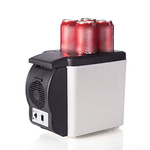 GAONAN Compacto Enfriador Calentador Mini for el dormitorio Oficina del coche del dormitorio - Maquillaje Cuidado de la Piel Nevera portátil Enfriador de coche