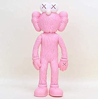 Prototype KAWS Original Fake Dissected Companion Model Art Toys Action Figure Collectible Model Toy 11.8inch (30cm) (Pink)