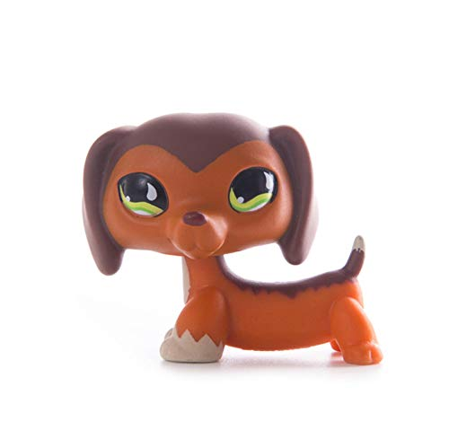 Little Pet Shop LPS Old Short Hair Kitten Cat Collie Dachshund Great Dane Spaniel Dog Figuras de acción Modelo Muñecas Juguetes