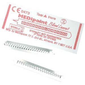 MEDIPOINT Stainless Steel Lancet - 200ct