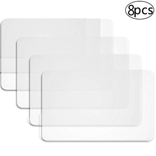 BETOY 8 Stück Tischsets Platzset Kunststoff Tisch Matte Hitzebeständige Tischsets Essmatten für...
