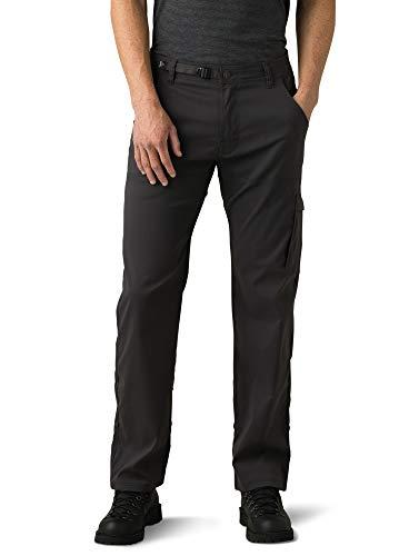 prAna Men's Standard Stretch Zion Pant, Charcoal-Grey, 33W x 34L