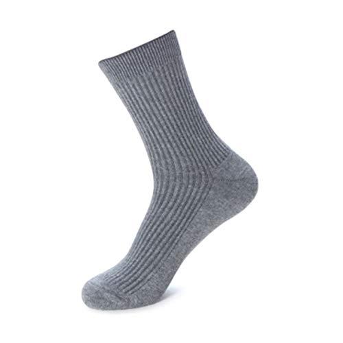 Clásico Transpirable Cómodo Calcetines de vestir 1 Cojín de algodón Par larga de los hombres Calcetines, atlético calcetín No-Show tobillo que absorbe la humedad Casual Botas de trabajo calcetines más