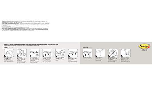 Command Picture Ledge, Quartz, 1-Ledge, 10-Medium Strips (HOM21Q-ES), Great for dorm decor