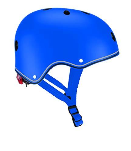 Globber Casque Junior Primo-Navy Blue Enfant Jeunesse Unisexe, Bleu foncé, Taille XS-S