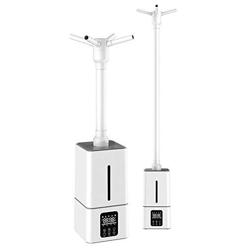 BOYZ Industrial Humidificador Mudo del hogar Máquina de desinfección 13 L de Gran Capacidad Tres núcleos Niebla fría Vaporizador Humidificación del Aire Frutas y Vegetales Preservación,Smart Version