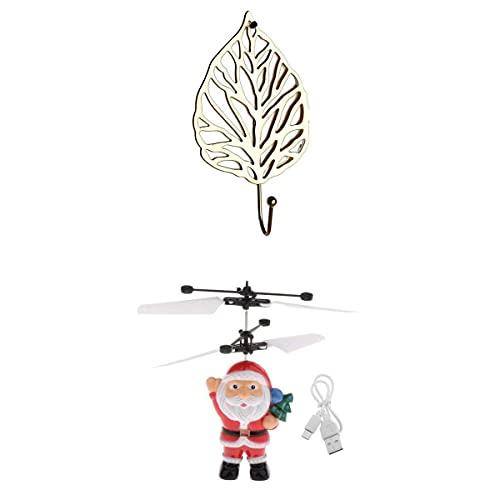 Ellenbogenorthese-LQ Drone parts Hand Flying UFO RC Drone Navidad juguete interior al aire libre juego con gancho de pared