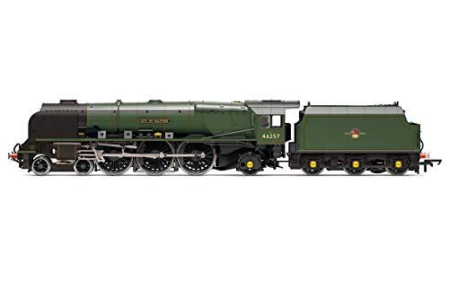 Hornby R3856 BR, Princess Coronation Class, 4-6-2, 46257 City of Salford - Era 5 Locomotive - Steam
