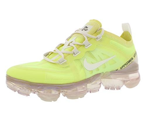 Nike Women's Air Vapormax 2019 Nylon Casual Shoes (8, Luminous Green/Phantom-Phantom)