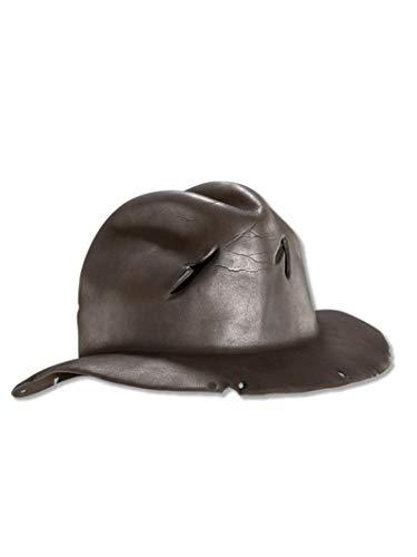 Rubie's Costume Co A Nightmare On Elm Street Freddy Krueger Hat (One Size/Brown)