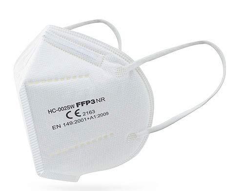 Mascarilla FFP3 NR Ultra Plus + Seguridad - 5 capas - CE2163 - EN 149:2001 +A1:2009 (20)