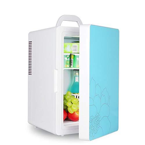 ZLININ Refrigerador de coche de 16 l mini refrigerador refrigerado de coche/mini poder, dormitorio de estudiante refrigerado/almuerzo portátil y refrigerador caliente (nombre del color: 45)