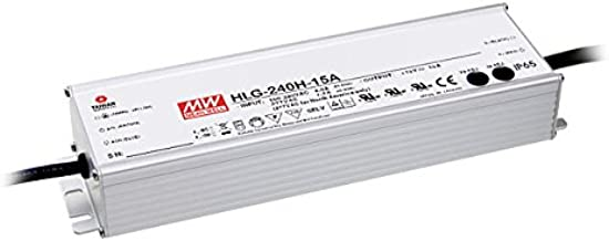 Mean well LED power Supply HLG Series | HLG-240H-24, A, B, C, D, | 24 volts | 240 watts|