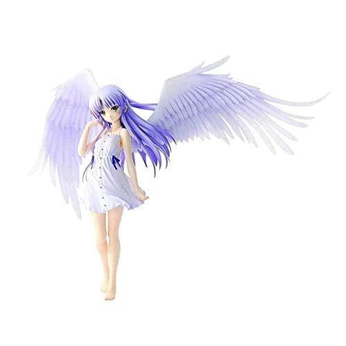 ZDVHM Figuras de acción Angel Beats Tenshi 7.87 Pulgadas / 20cm Anime Figure Figurine Carácter Modelo Estatua Estatua Desktop Ornamentos Coleccionables Muñecas Juguetes Regalos para niños