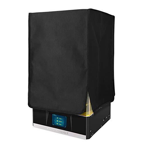 BCZAMD - Custodia per stampante in resina UV da 8,9 pollici Elite Blackout, protezione dalla luce del sole, polvere e polvere in PVC, 12 x 12 x 18 pollici per Photon Mono X LCD